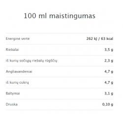 100 ml. maistingumas